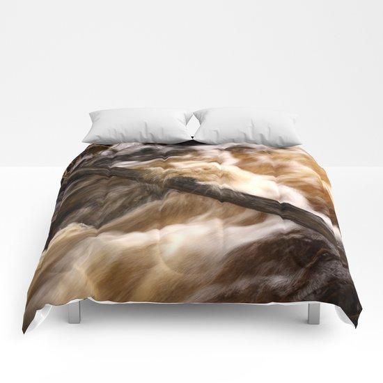 Flowing Water Comforters
