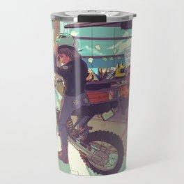 Beach Bike Travel Mug