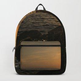 Sunset landscape photography Backpack