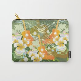 Tropical guitar Carry-All Pouch