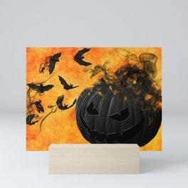 Halloween Trick Or Treat Mini Art Print