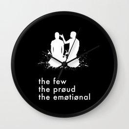 the few, the proud, the emotional // Twenty One Pilots Wall Clock