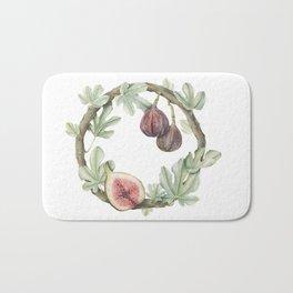 Fig Wreath Bath Mat