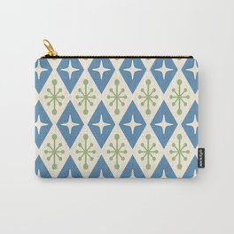 Mid Century Modern Atomic Triangle Pattern 104 Carry-All Pouch
