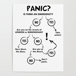 Panic Attack Poster