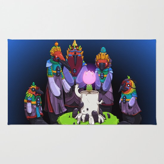 Shadow Puppets Rug