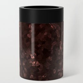 Stone coral - dark Can Cooler