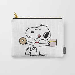 Snoopy donuts Carry-All Pouch