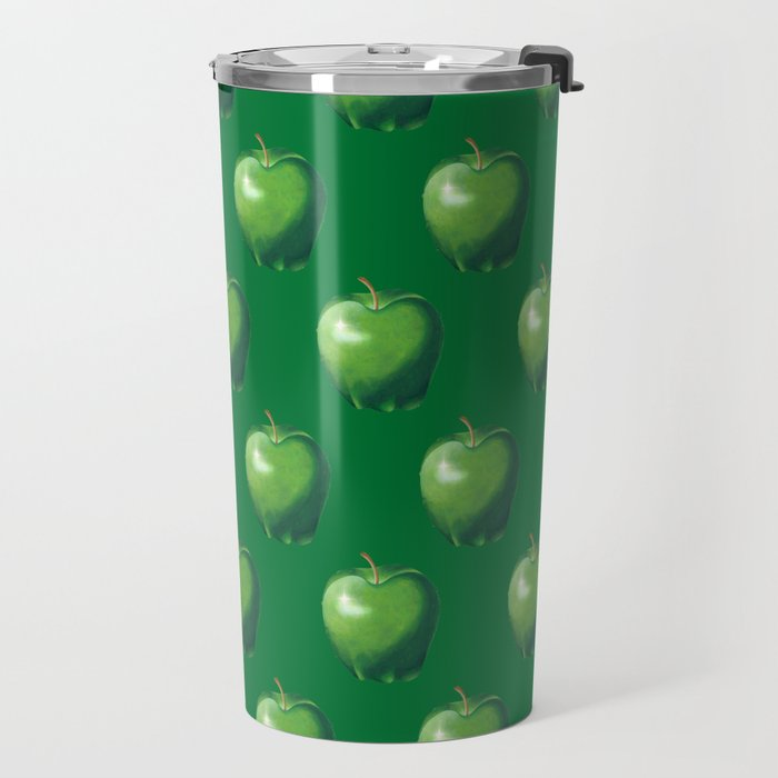 Green Apple_B Travel Mug