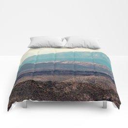 Slingshot Slate (Zion National Park, Utah) Comforters