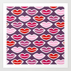 KISSES FOR YOU Art Print