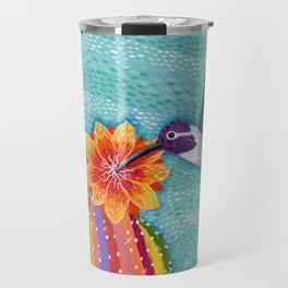 Costa Hummingbird & Barrel Cactus Travel Mug