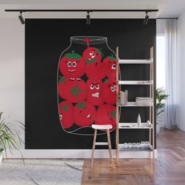 Tomatoes Wall Mural