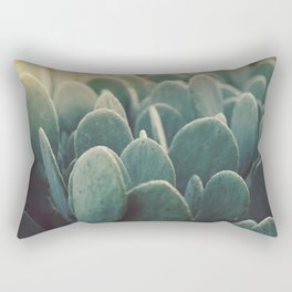 Green + Gold Rectangular Pillow