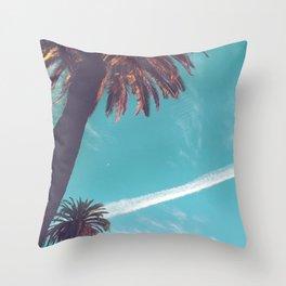 Palm Paradise Throw Pillow