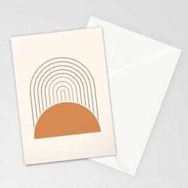 Rainbow Sun Earth Stationery Cards