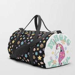 Hippie unicorn Duffle Bag
