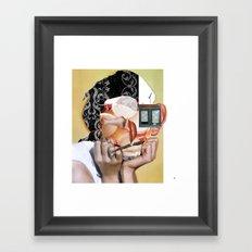 Audrey X2 Framed Art Print