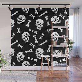 Skulls and bones Wall Mural