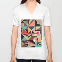 prism V-neck T-shirts featuring Prism by Kerry Lacy