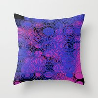 lace Throw Pillows featuring Lace by SBHarrison