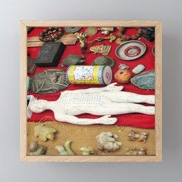 Beijing Flea Market Finds Framed Mini Art Print