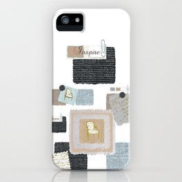 An Inspiration Board iPhone Case