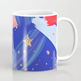 Watercolor Fourth of July Coffee Mug