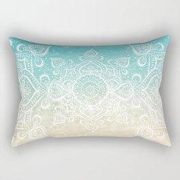 Beach Mandala Rectangular Pillow