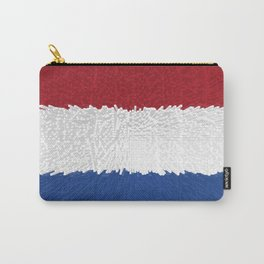 Extruded flag of the Netherlands Carry-All Pouch