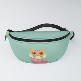 Kitty xmas stocking Fanny Pack