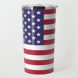 Flag of USA, 10:19 scale prints Travel Mug