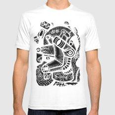 Dali #1 - the print Mens Fitted Tee MEDIUM White