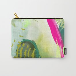 Prickly Pear Abstract Painting Carry-All Pouch
