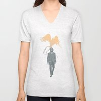 Out of the ashes arose a Phoenix Unisex V-Neck