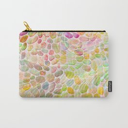 Rainbow River Rocks Carry-All Pouch
