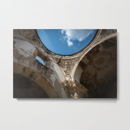 Antigua Church Ruins Metal Print