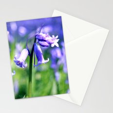 drowning in the bluebell sea Stationery Cards