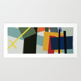 Abstract Composition 526 Art Print