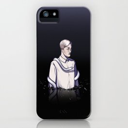 Draco Malfoy in the mind iPhone Case