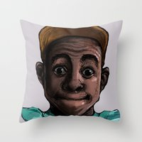 tyler the creator Throw Pillows featuring Tyler The Creator by ASHUR Collective™