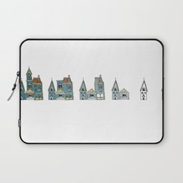 Sub(tract) housing in blue Laptop Sleeve