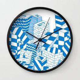 free radical Wall Clock