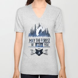 May The Forest Unisex V-Neck