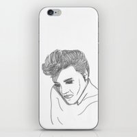 elvis iPhone & iPod Skins featuring Elvis by PintoQuiff