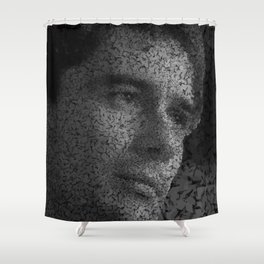 Homage to Ayrton Shower Curtain