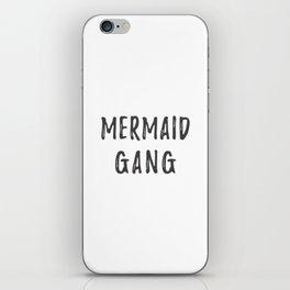 Mermaid Gang iPhone Skin