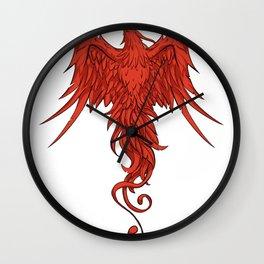 phoenix design Wall Clock
