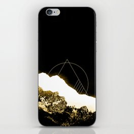 Golden Mountain iPhone Skin
