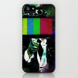 Uncle Brainwash iPhone Case